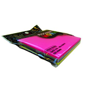 Notas Adhesivas Block 76x76 100 hjs. Mix colors